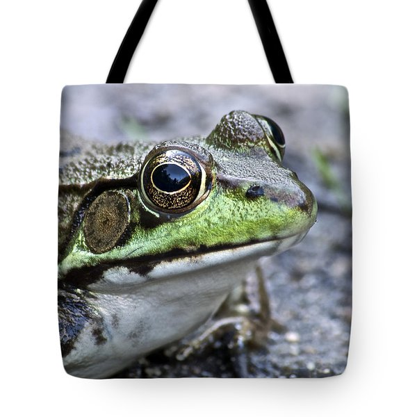 Green Frog Tote Bag