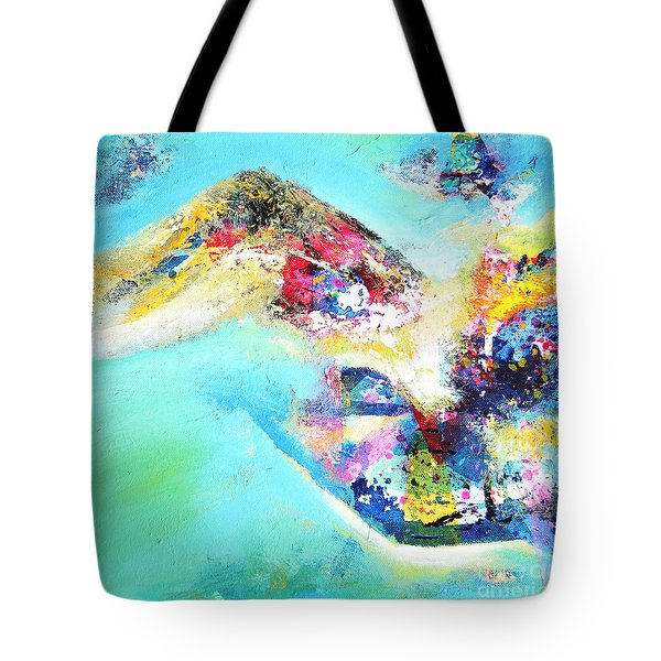 Green Harmony Tote Bag by Sanjay Punekar