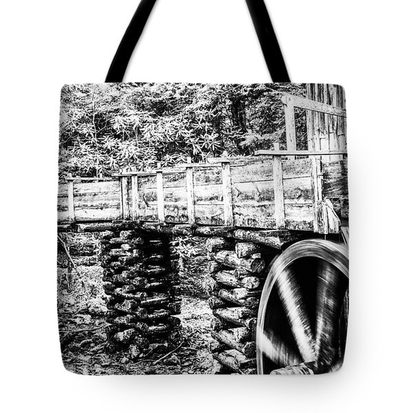 Tote Bag featuring the photograph Grist Mill by Jay Stockhaus