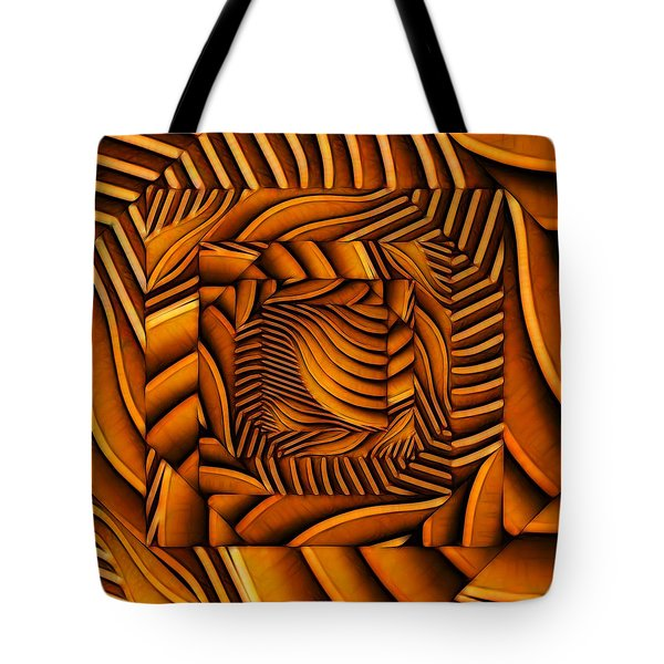 Tote Bag featuring the digital art Groovy by Ron Bissett