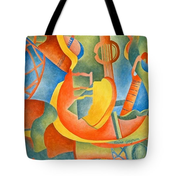 Grosse Guitare Tote Bag