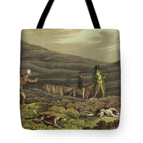 Grouse Shooting Tote Bag