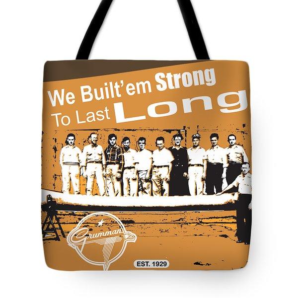 Grumman Canoe Tote Bag