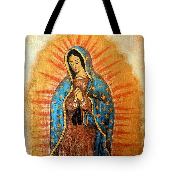 Guadalupe Virgin Tote Bag