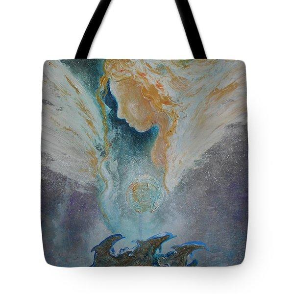 Angelic Encounters  Tote Bag