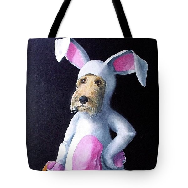 Gunther's Easter Parade Tote Bag by Diane Daigle