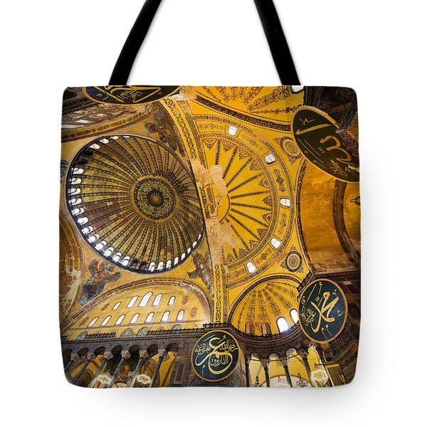 Hagia Sophia Interior Tote Bag