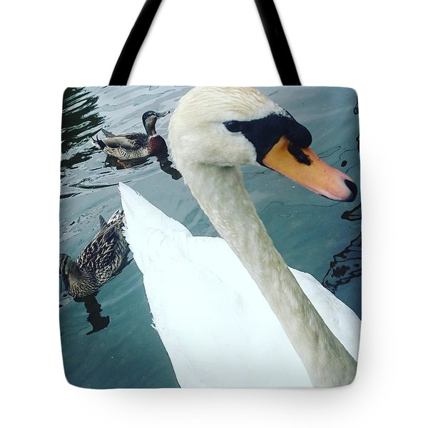 Hakucho Means Swan  Tote Bag