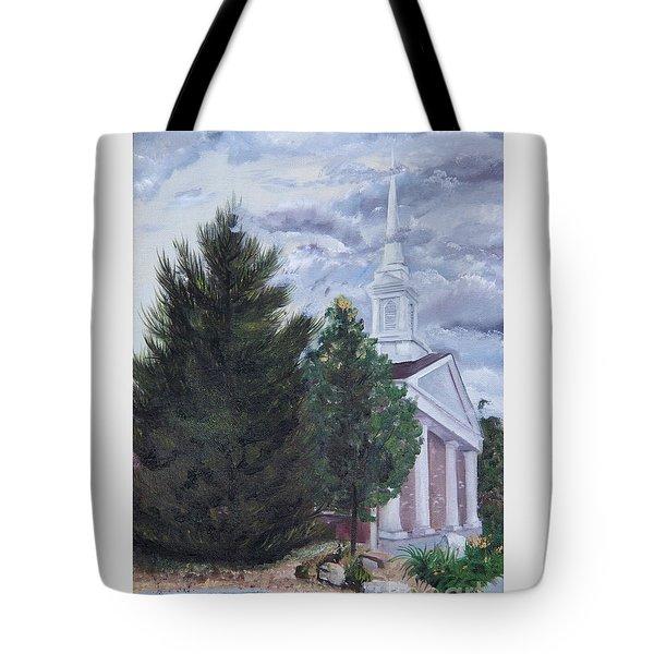 Hale Street Chapel Tote Bag