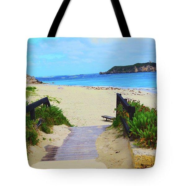 Hamelin Bay Tote Bag by Cassandra Buckley
