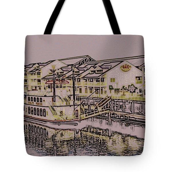 Hamlins Landing Tote Bag