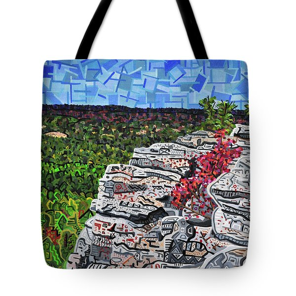 Hanging Rock State Park Tote Bag by Micah Mullen