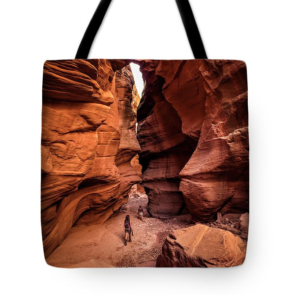 Happy Canyon Tote Bag