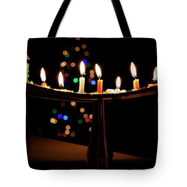 Tote Bag featuring the photograph Happy Holidays by Susan Stone