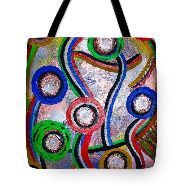 Happy People Tote Bag