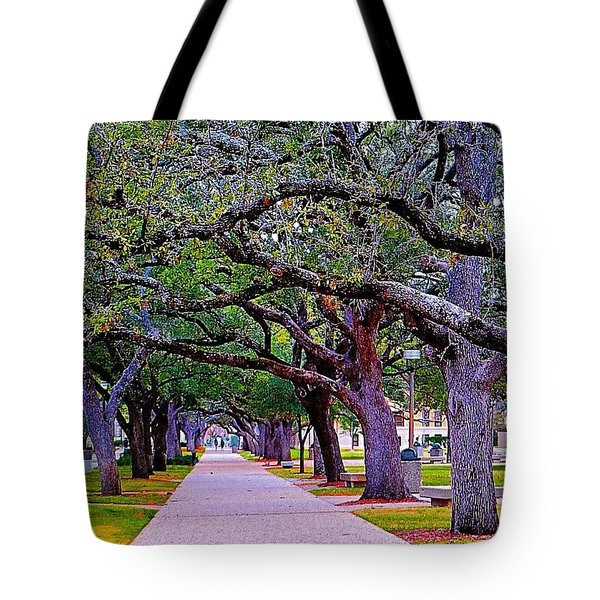 Happy Sunday! May The #path You Take Tote Bag