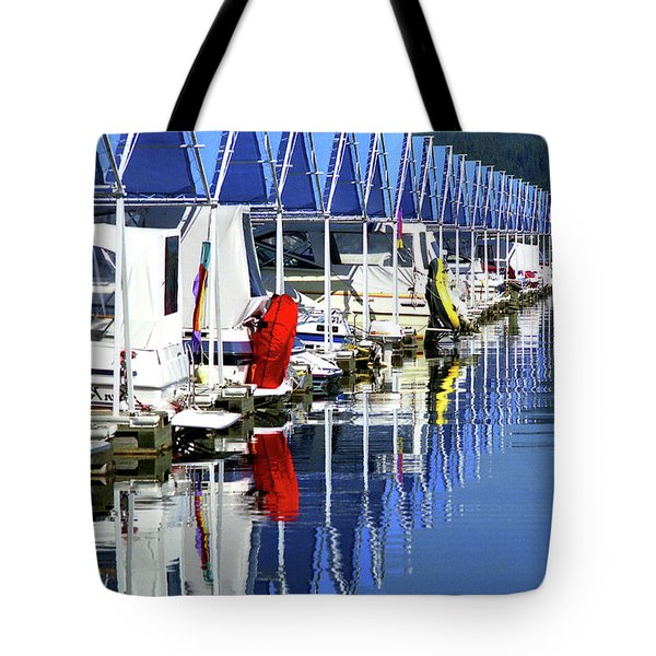 Tote Bag featuring the photograph Harbor by Emanuel Tanjala