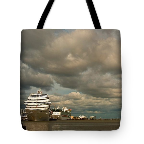 Harbor Storm Tote Bag
