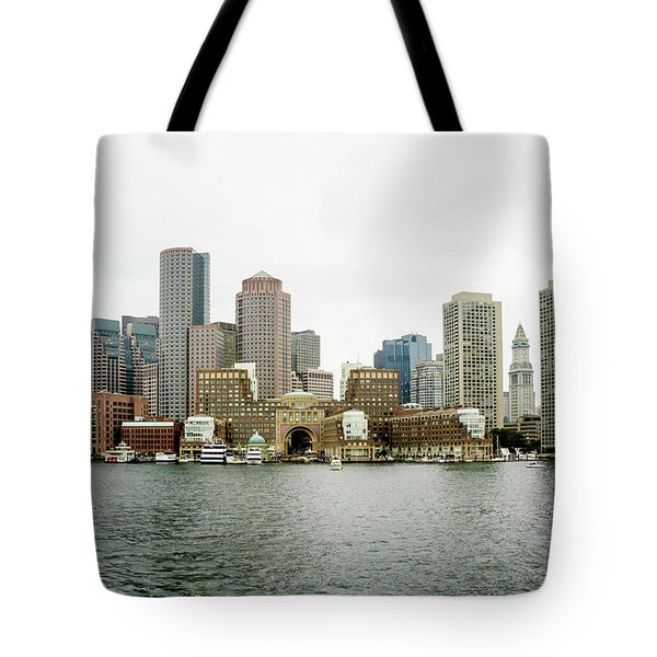 Harbor View Tote Bag by Greg Fortier