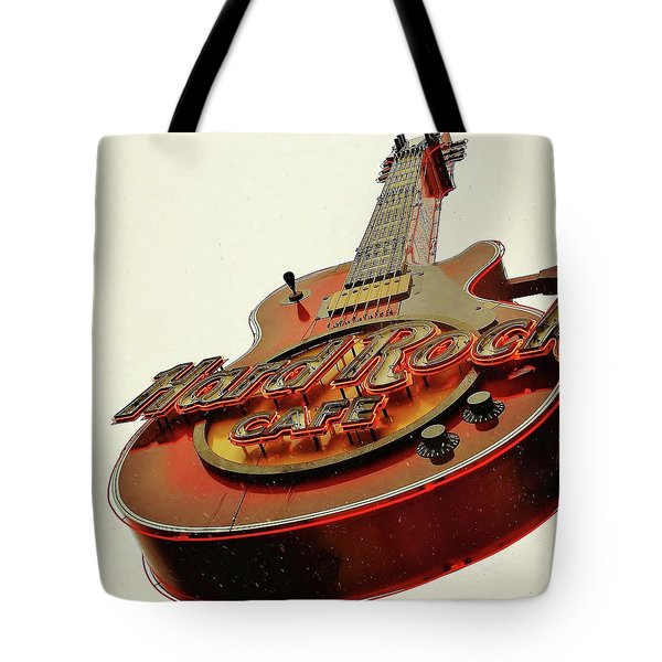 Hard Rock Cafe' Tote Bag