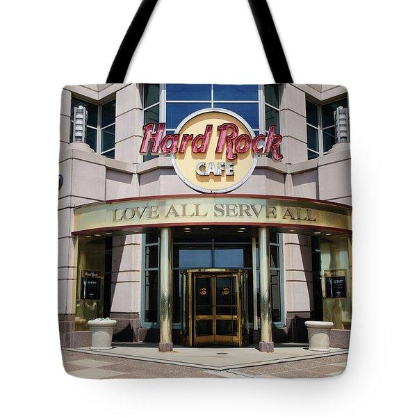 Hard Rock Cafe Tote Bag