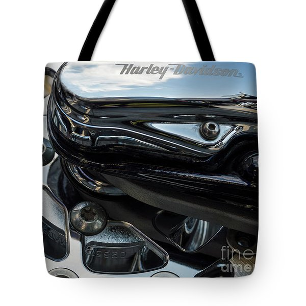 Tote Bag featuring the photograph Harley Davidson 15 by Wendy Wilton