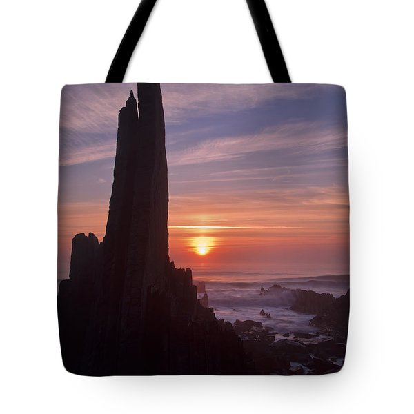 Hartland Seascape From The West Coast Of Devon Tote Bag