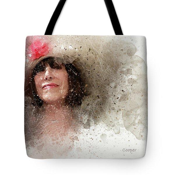 Fille Au Chapeau Tote Bag