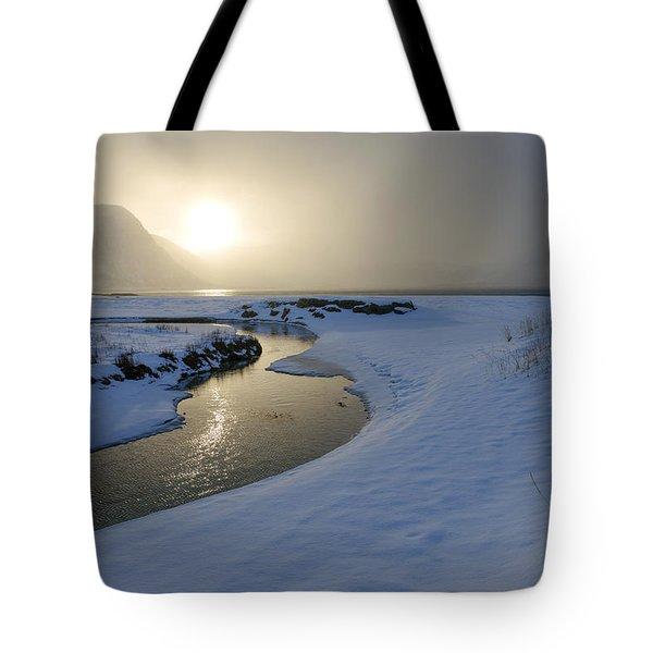 Haukland Beach, Lofoten Tote Bag