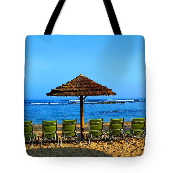 Hawaiian Beach Tote Bag