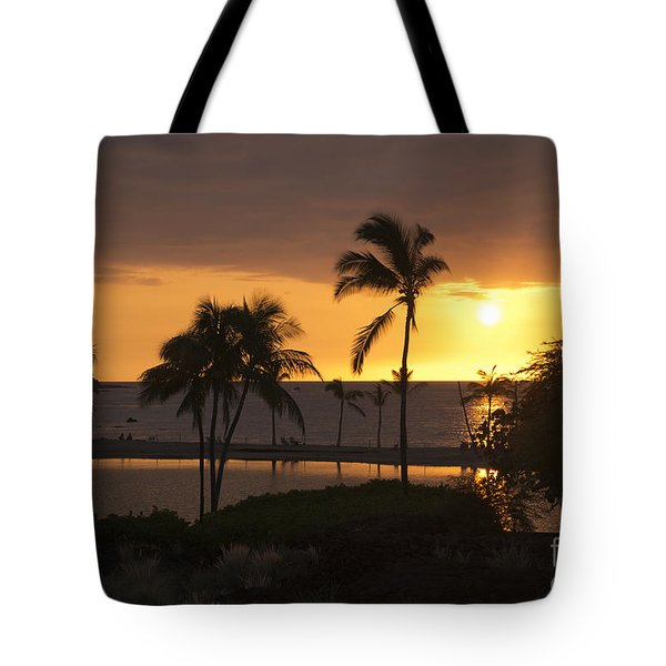 Hawaiian Sunset Tote Bag by Loriannah Hespe