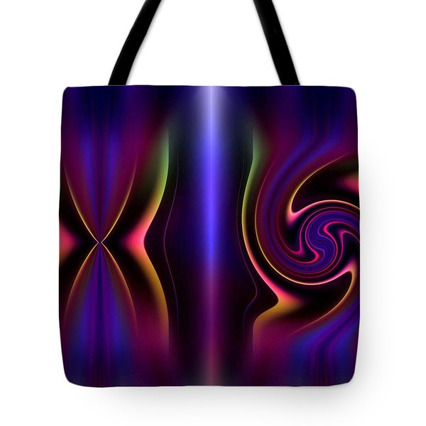 He Created Them Male And Female Tote Bag