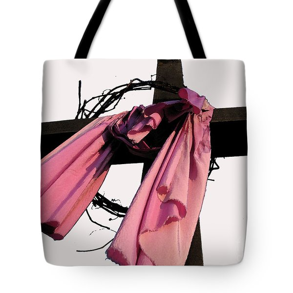 Tote Bag featuring the photograph He Is Risen by Douglas Stucky