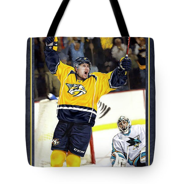 Tote Bag featuring the photograph He Shoots He Scores by Don Olea