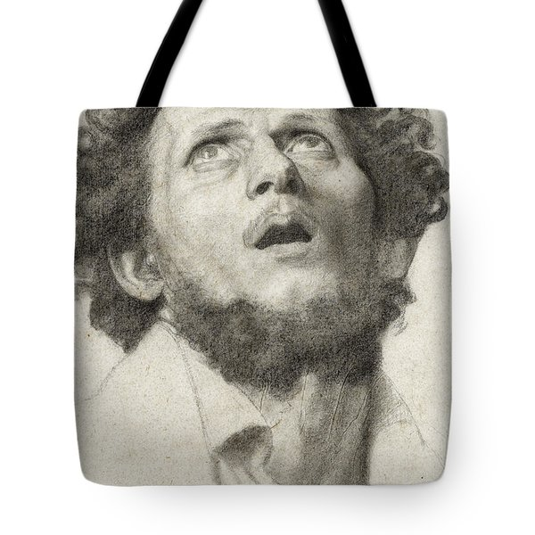 Head Of A Man Tote Bag