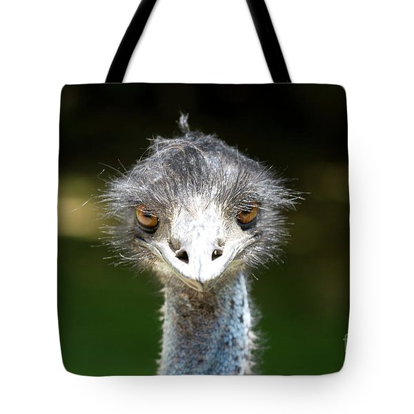 Head Of Ostrich Tote Bag