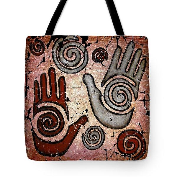 Healing Hands Fresco Tote Bag