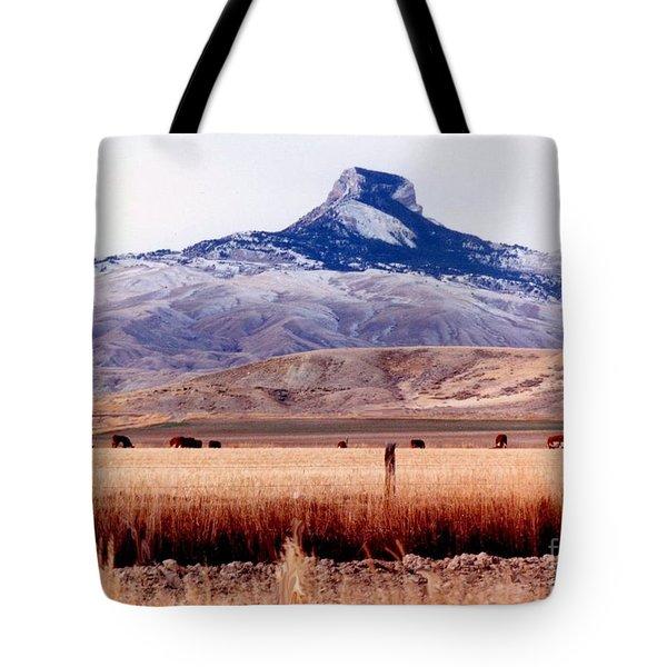 Heart Mountain - Cody,  Wyoming Tote Bag