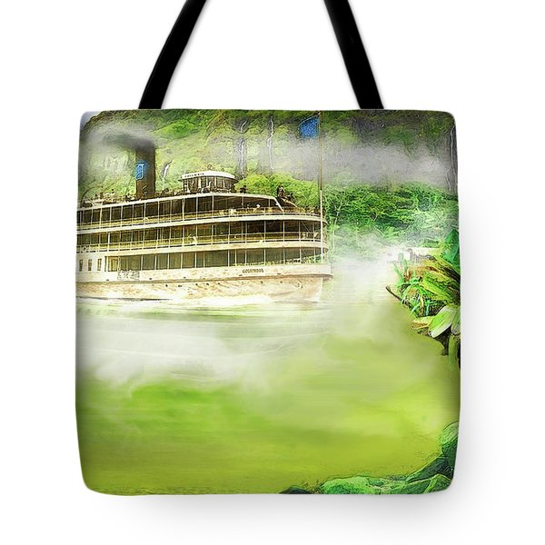 Heart Of Darkness Tote Bag by Michael Cleere