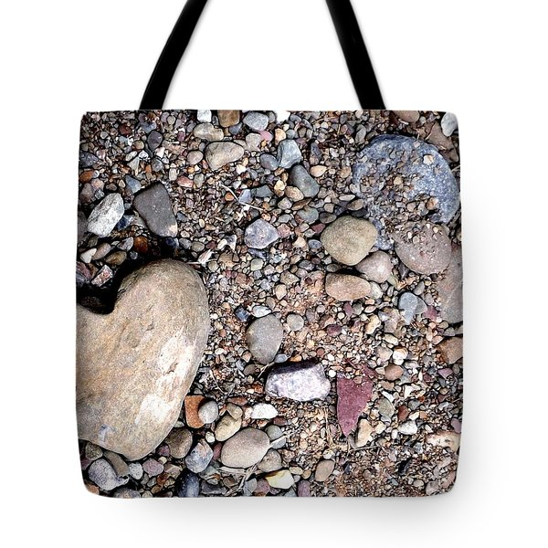 Heart Of Stone Tote Bag by Danielle R T Haney