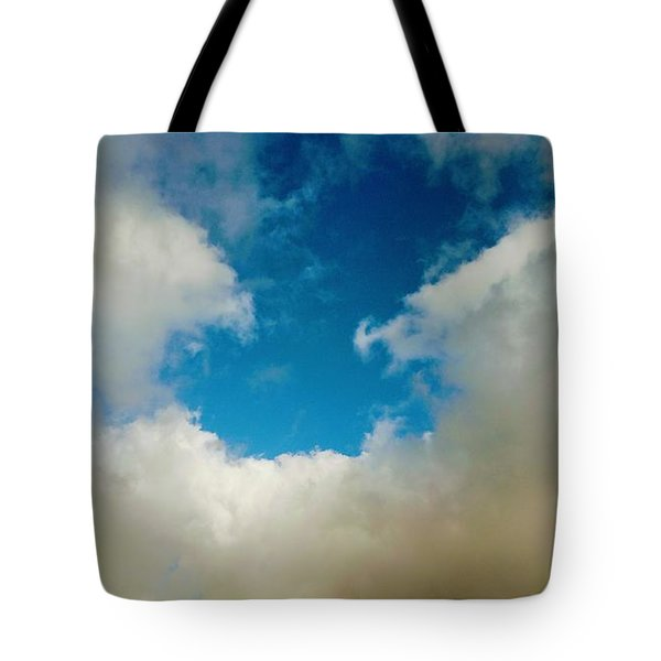 Heavenly Clouds Tote Bag