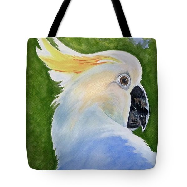 Hello, Cocky Tote Bag
