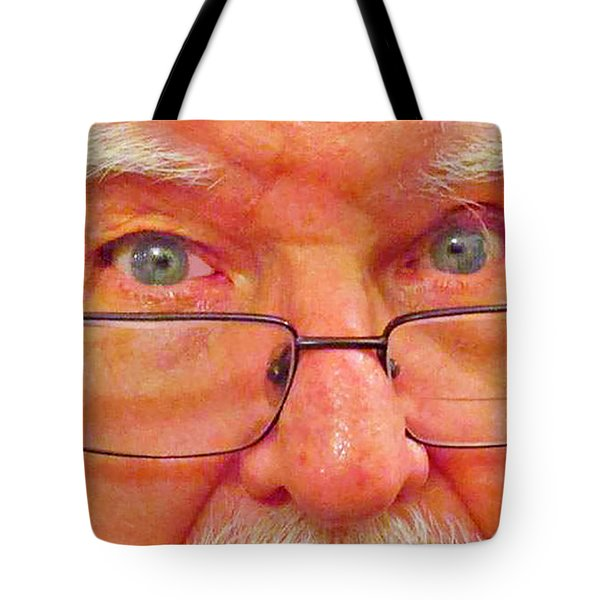 Hello Tote Bag by Fred Jinkins