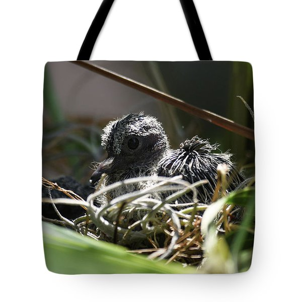 Tote Bag featuring the photograph Hello by Sally Sperry