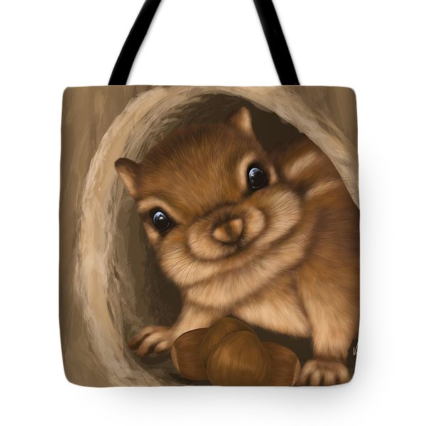 Tote Bag featuring the painting Hello by Veronica Minozzi