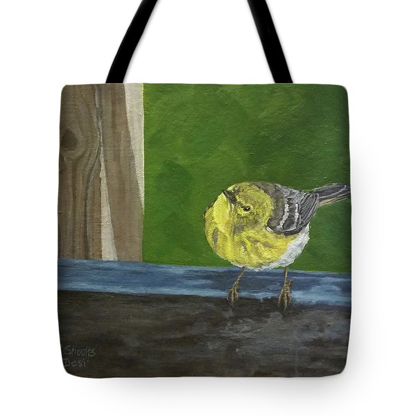 Hello Tote Bag by Wendy Shoults
