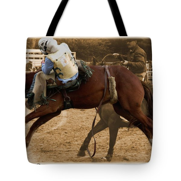 Helluva Rodeo-the Ride 6 Tote Bag