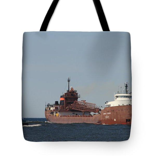 Herbert C. Jackson Tote Bag