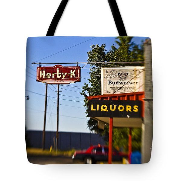 Herby K Tote Bag by Scott Pellegrin
