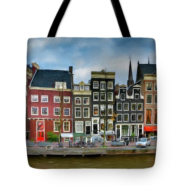 Tote Bag featuring the photograph Herengracht 411. Amsterdam by Juan Carlos Ferro Duque